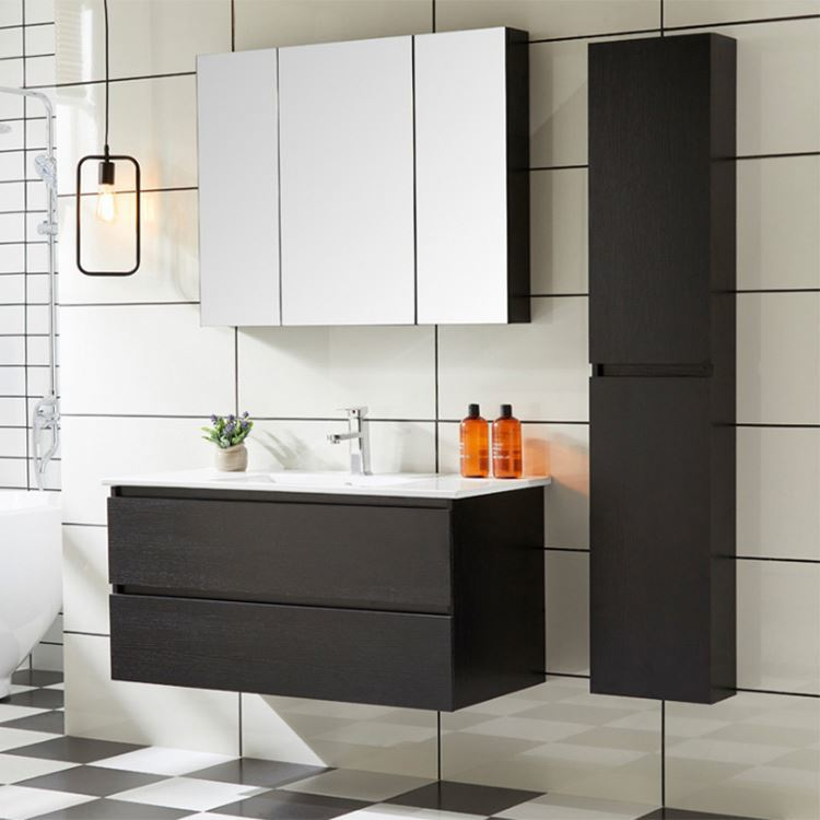 Floating Bathroom Vanity Solid Wood Wall Hung