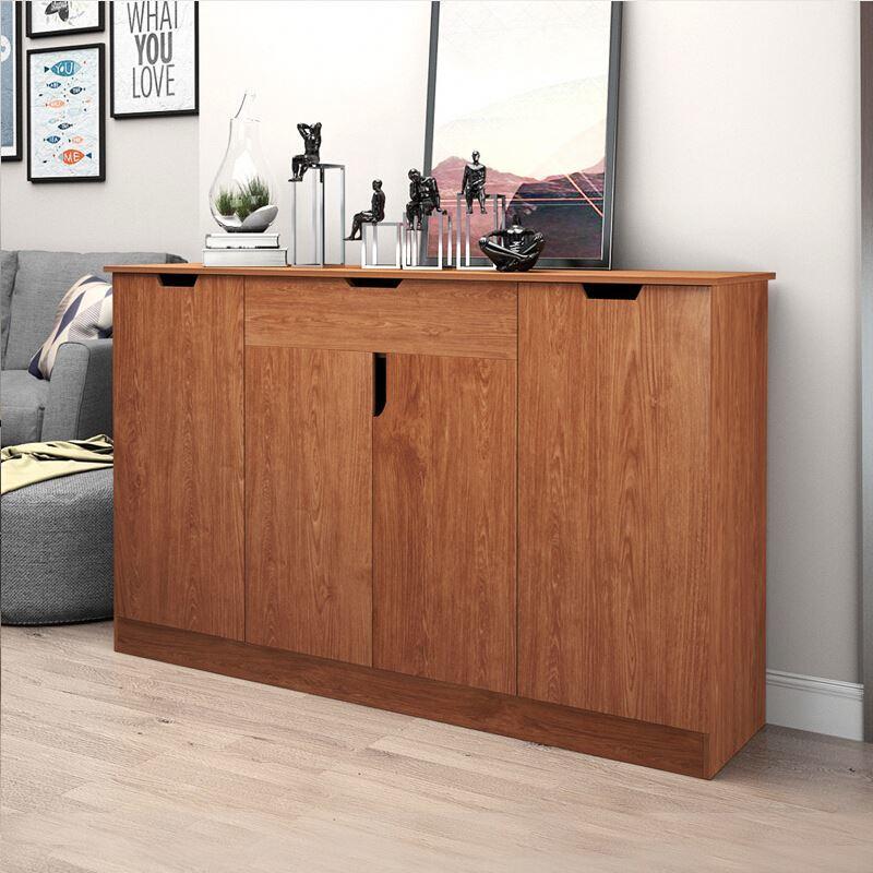 Capacity Hallway Simple Design Modern Custom Wood Cabinets