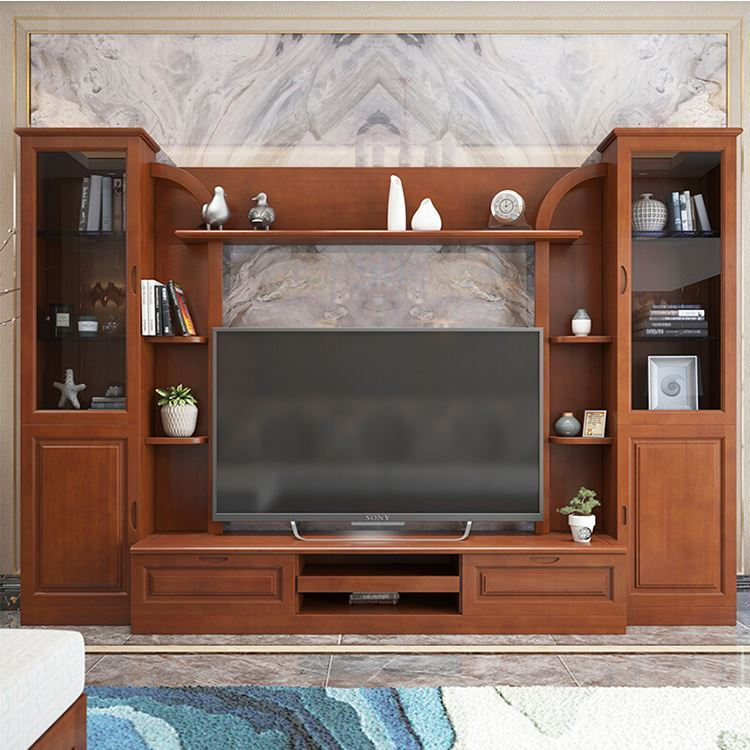 Cabinet Tv Living Room Furniture Tv Wall Wood Cabinets Wholesale