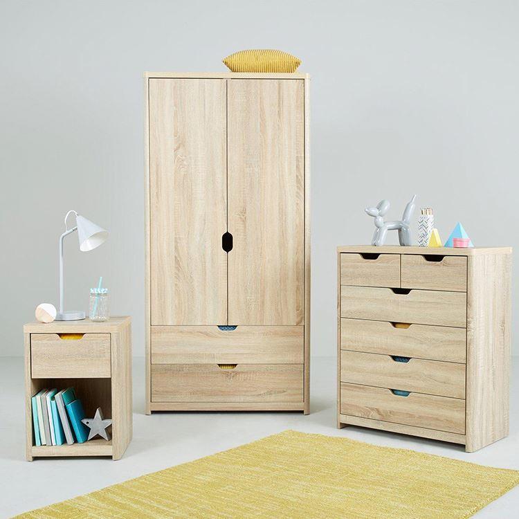 Contemporary Wardrobe 3 Door Bedroom Wardrobe Design