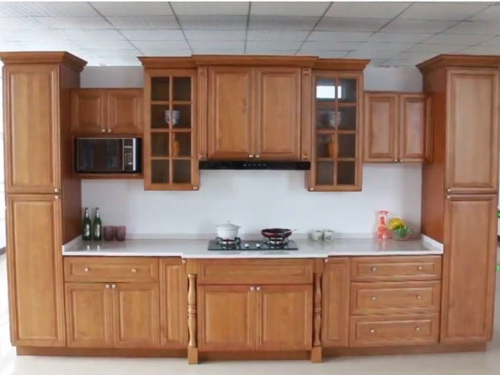 American Standard Solid Wood Kitchen And Bathroom Cabinets