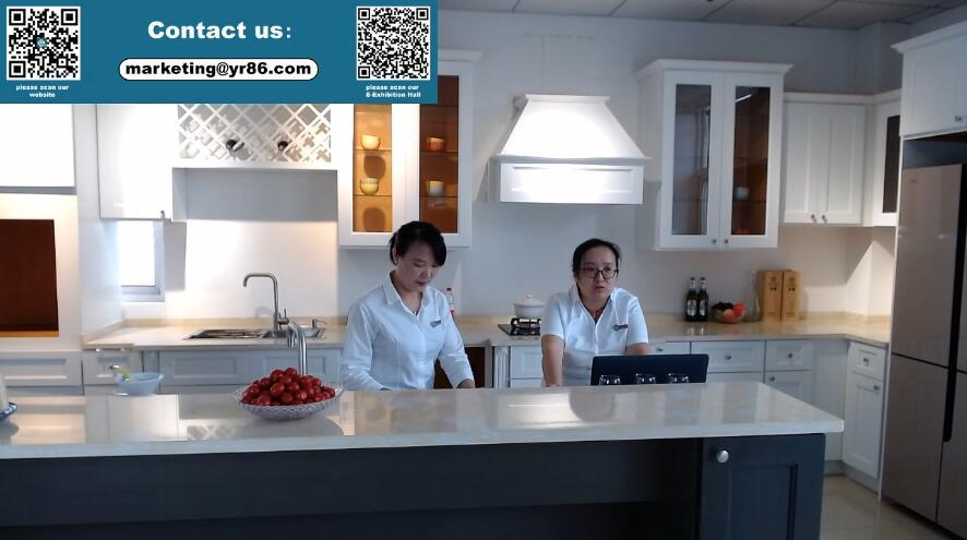 2020 Additional Kitchen Cabinets Online Canton Fair Live Studio 0615