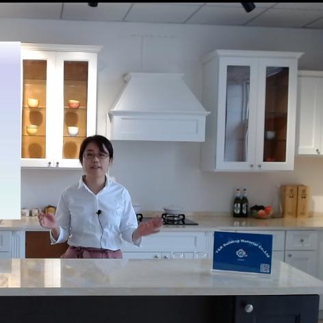 2020 Kitchen Craft Cabinets Online Canton Fair Live Studio Nancy