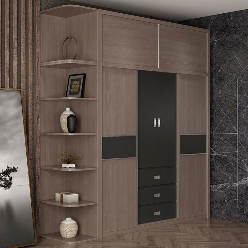 CARB II Double Color Storage Wardrobe Bedroom Armoire Wardrobe