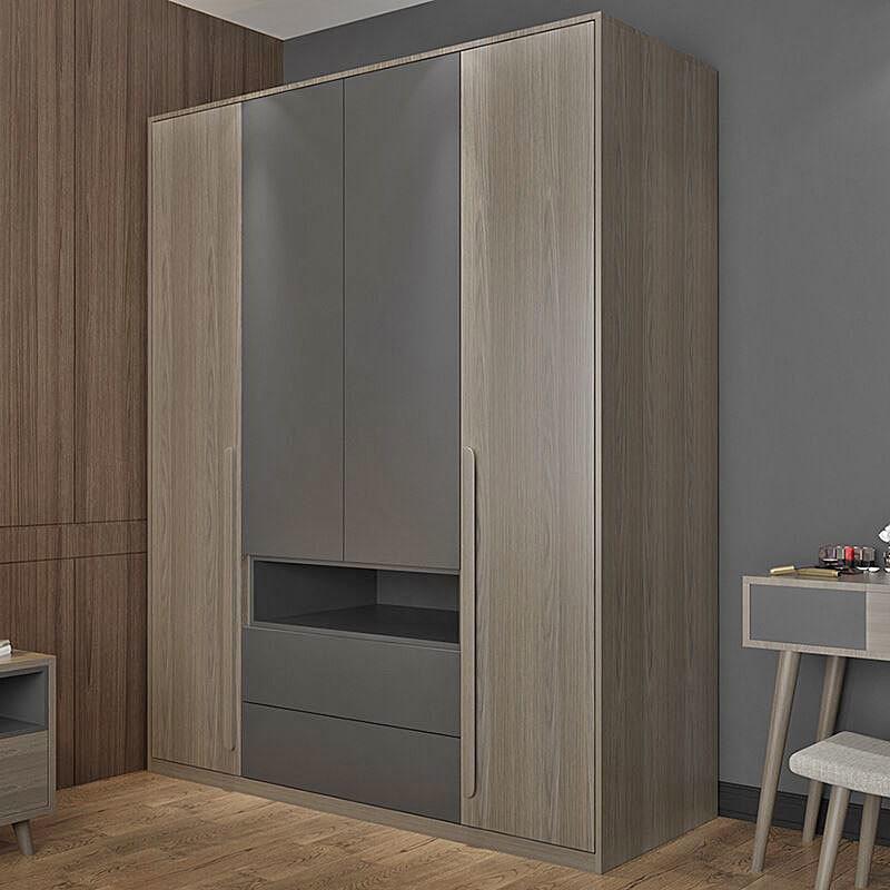 CARB II Certification Simple Wardrobe Cabinet Used French Wardrobe Modern