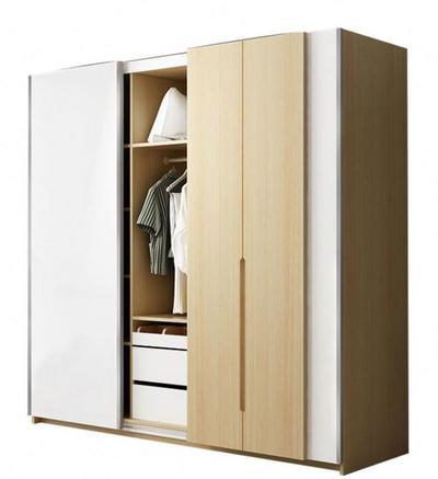 Cheap Wooden Wardrobe Clothes Closet Design For Bedroom Design