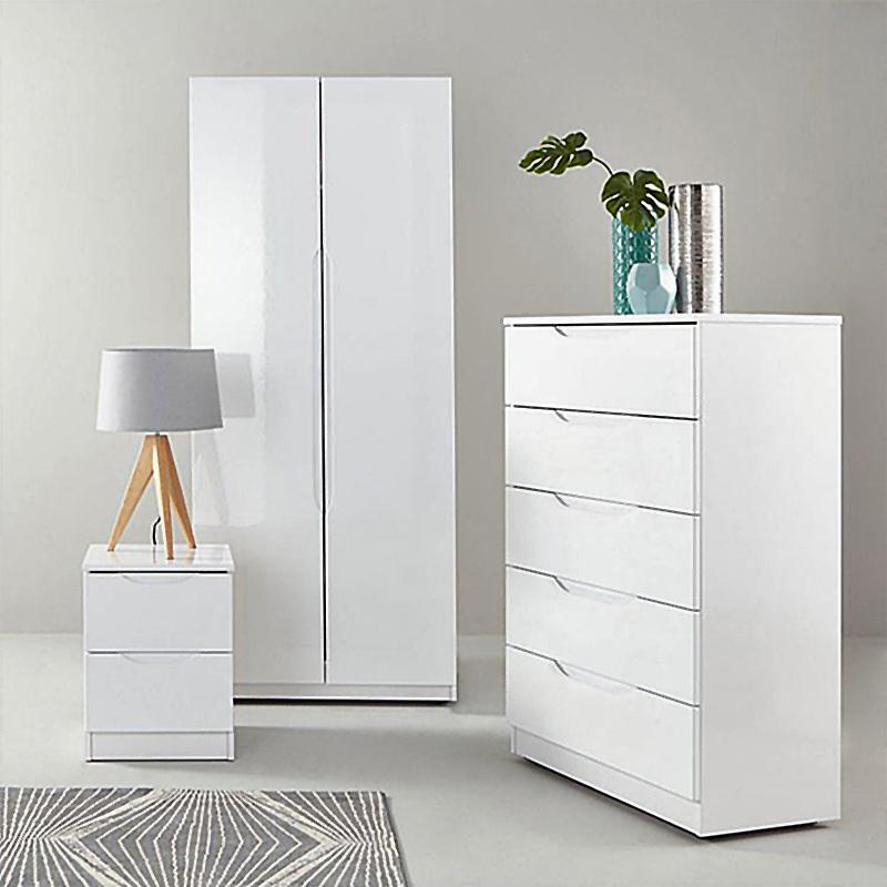 Custom Wardrobe Door Modern Bedroom Mdf Multi Doors Wardrobe