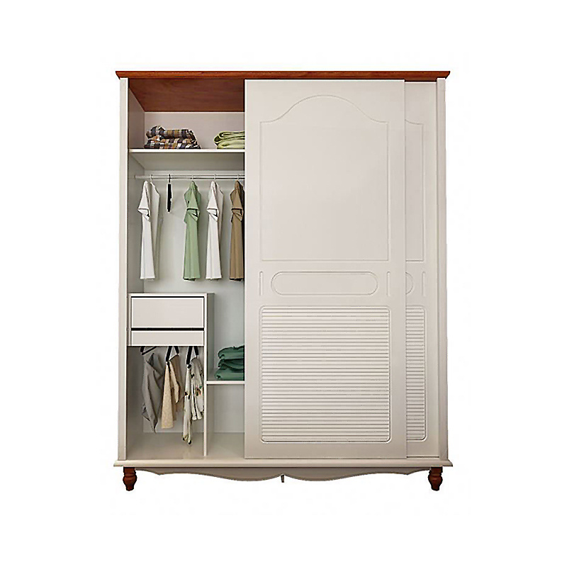 E0 Bedroom Closet Wood Home Wardrobe Cabinets Designs