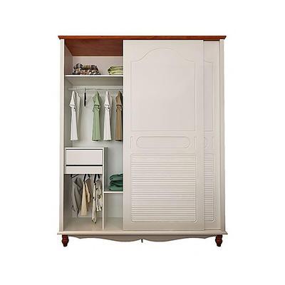 E0 Bedroom Closet Wood Home Wardrobe Cabinets Designs