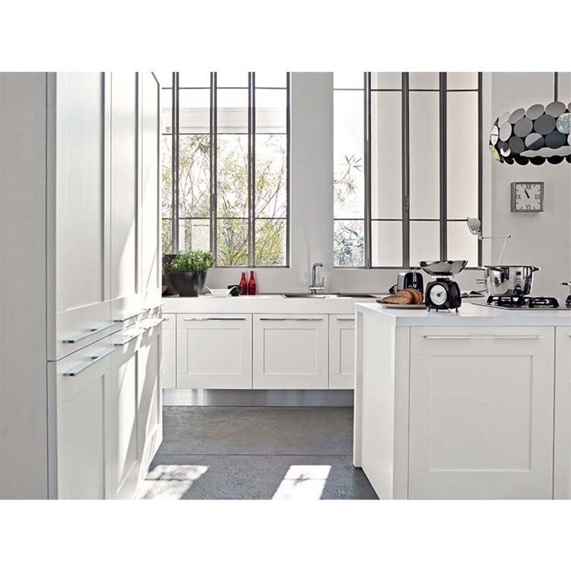 High-quality small kitchen design cabinet factory-1