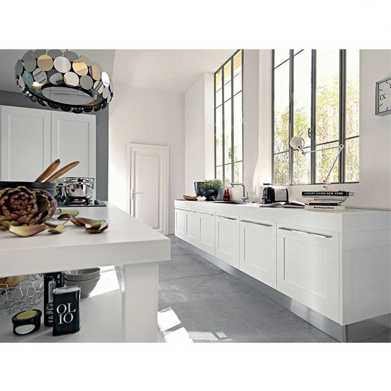 China Cheap Professional Design Custom Wood New Style Kitchen Cabinets