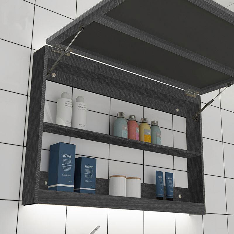 Top wall hung bathroom cabinet factory-2