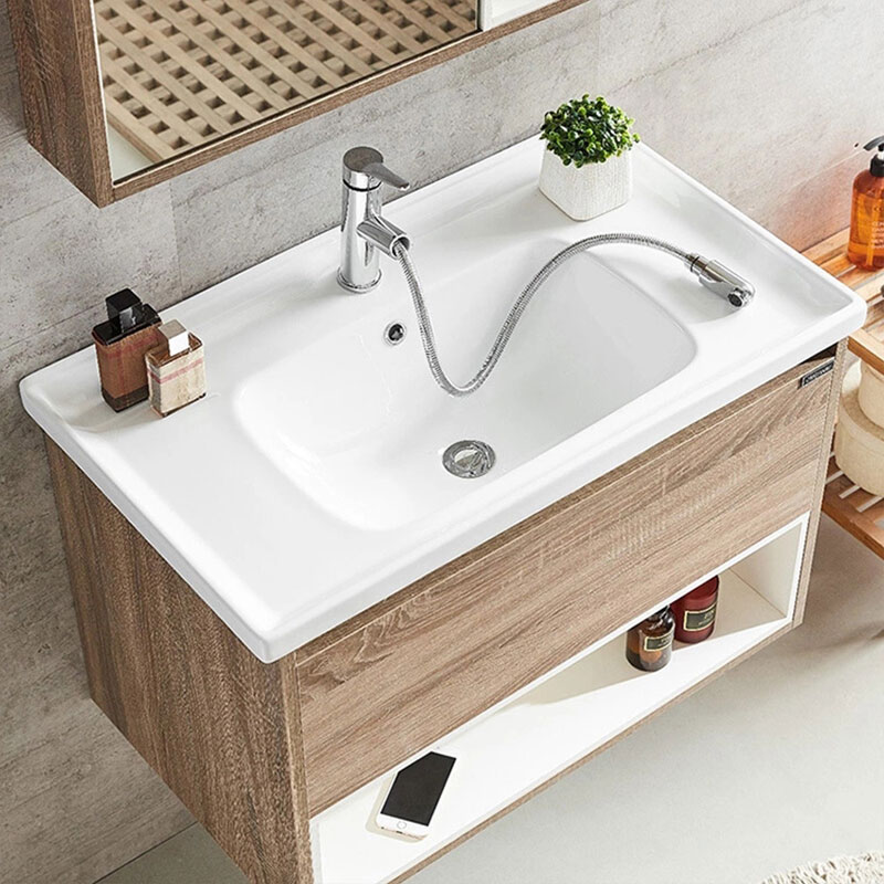 Top solid wood bathroom vanity for business-2
