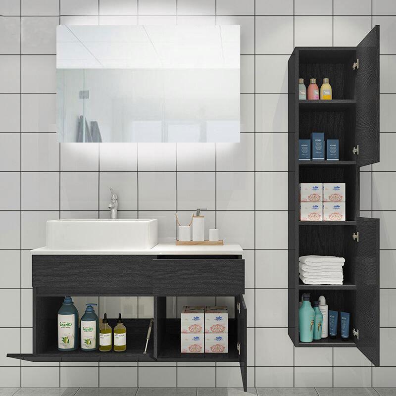 Particle Board Hotel Vanity China Bathroom Vanities Furniture
