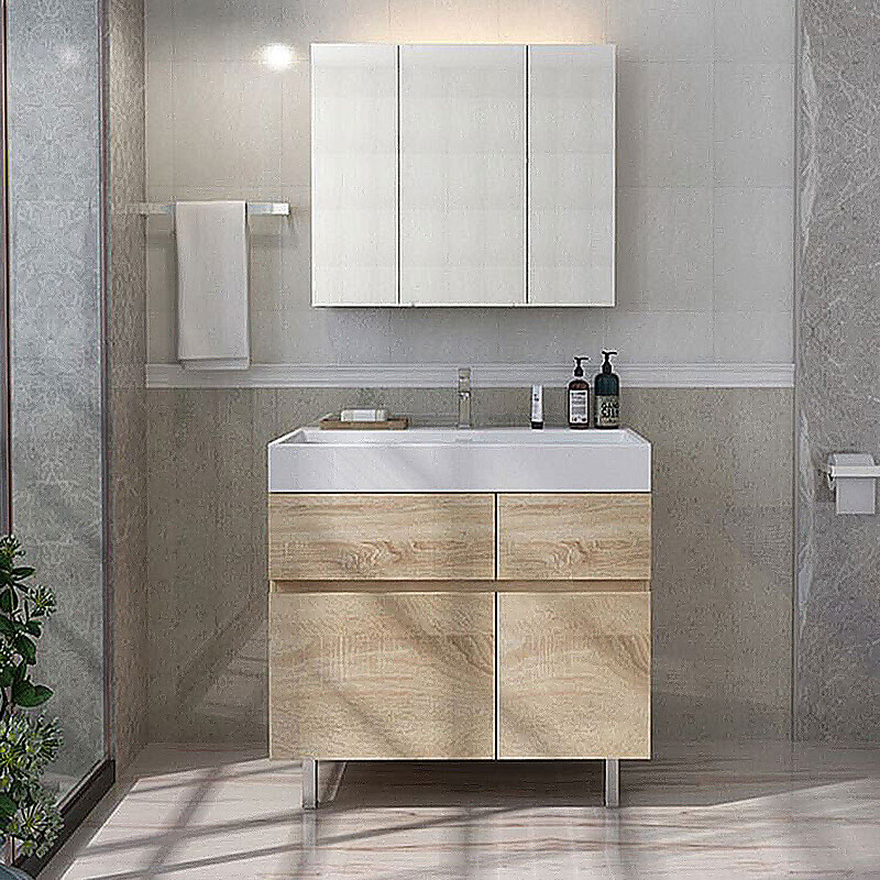 Y&R Building Material Co.,Ltd white bathroom cabinet Suppliers-1
