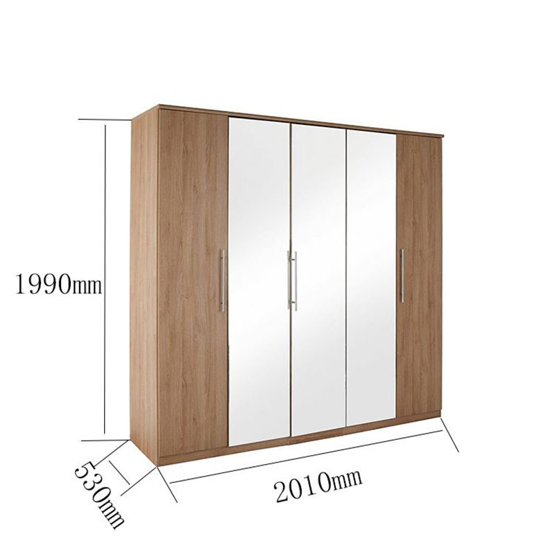 Wholesale furniture armoire wardrobe manufacturers-2