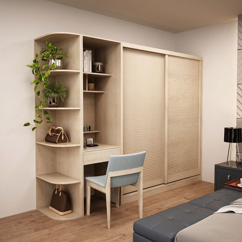 Bedroom Wooden Acrylic MDF Bespoke Wardrobe Designs Door Designs