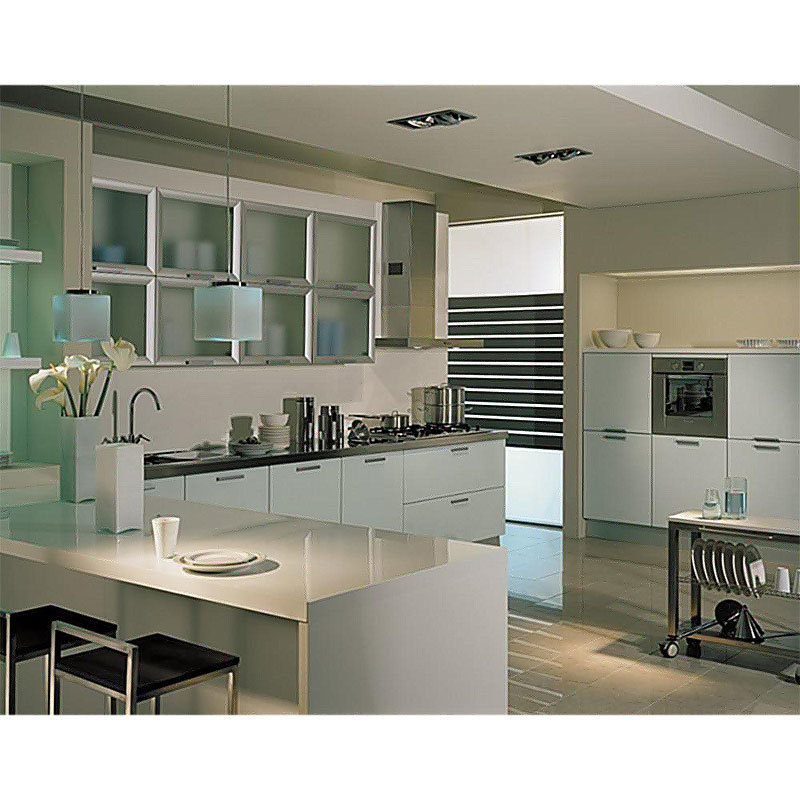 Colombia Kitchen Furniture Mdf Modern Kitchen Cabinets