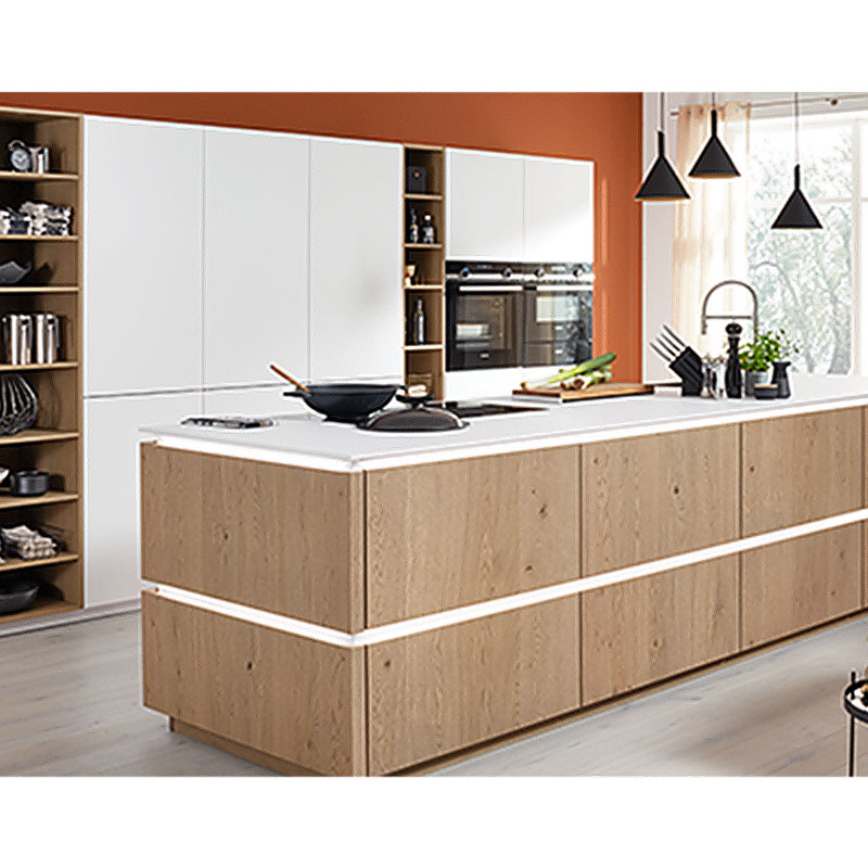 Latest furniture handle kitchen cabinet company-1