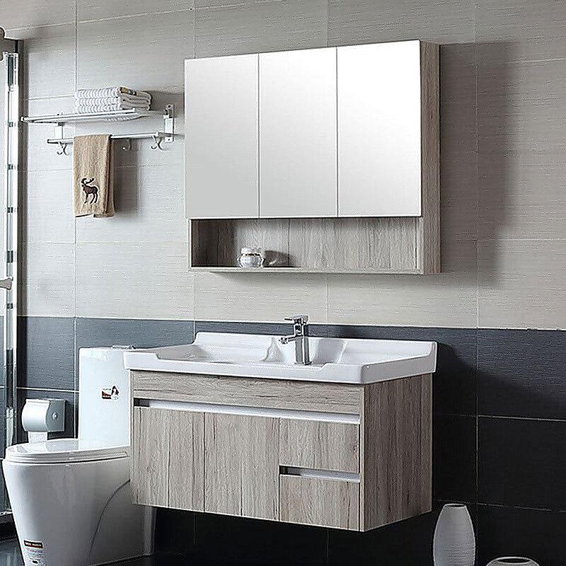 Hotel Single Sink Pvc American Bathroom Vanity