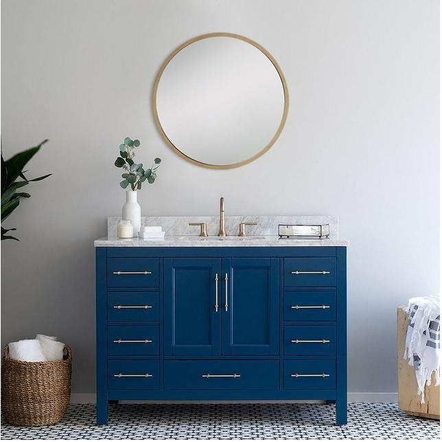 Manufacture Mirror PVC American Bathroom Vanity
