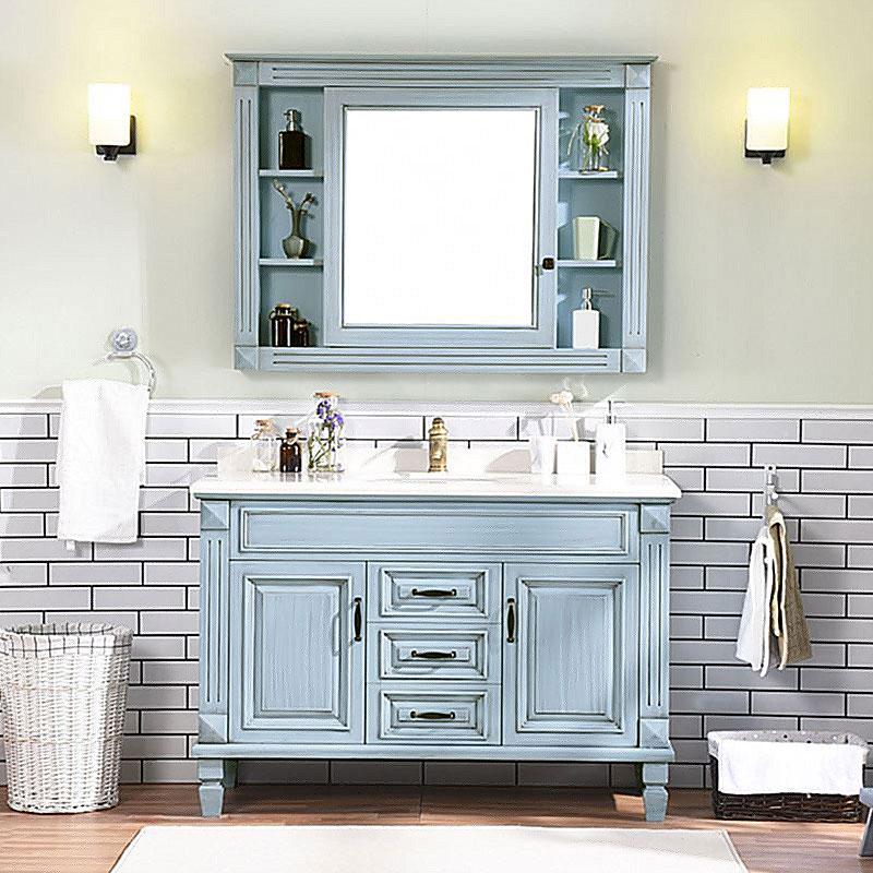Y&R Building Material Co.,Ltd Best bathroom vanity cabinet factory-1