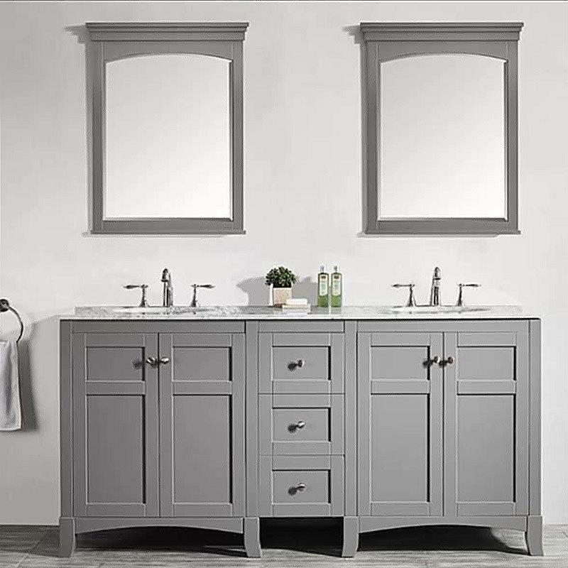 Mirror Cabinets New Style Solid Wood Bathroom Vanity