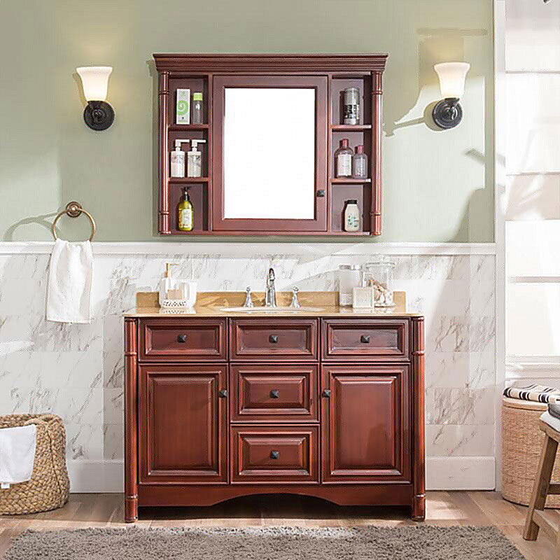 Y&R Building Material Co.,Ltd Latest bathroom cabinet with mirror Suppliers-1