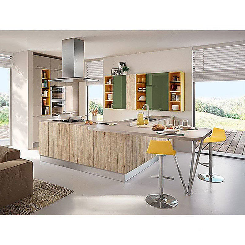 European Style Modern Kitchen Cabinets Sets Design In China