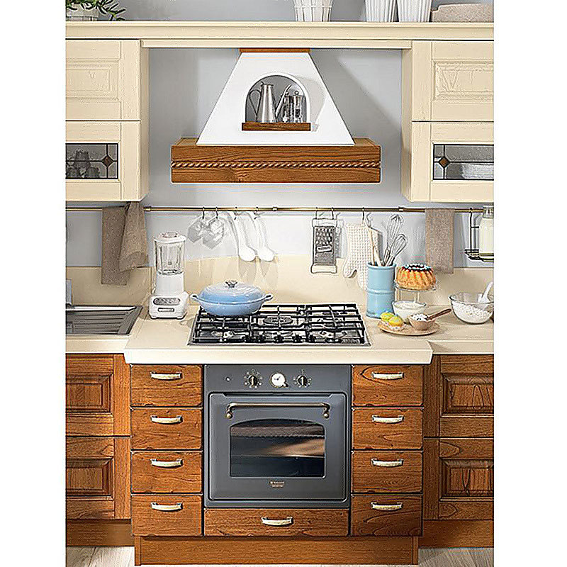 Factory Direct Sale Lacquer Custom Solid Wood Modern Kitchen Cabinets
