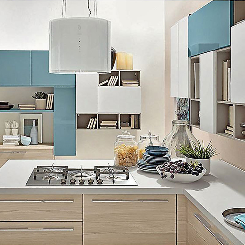 Modern High Design Gloss Affordable European Style Kitchen Cabinets
