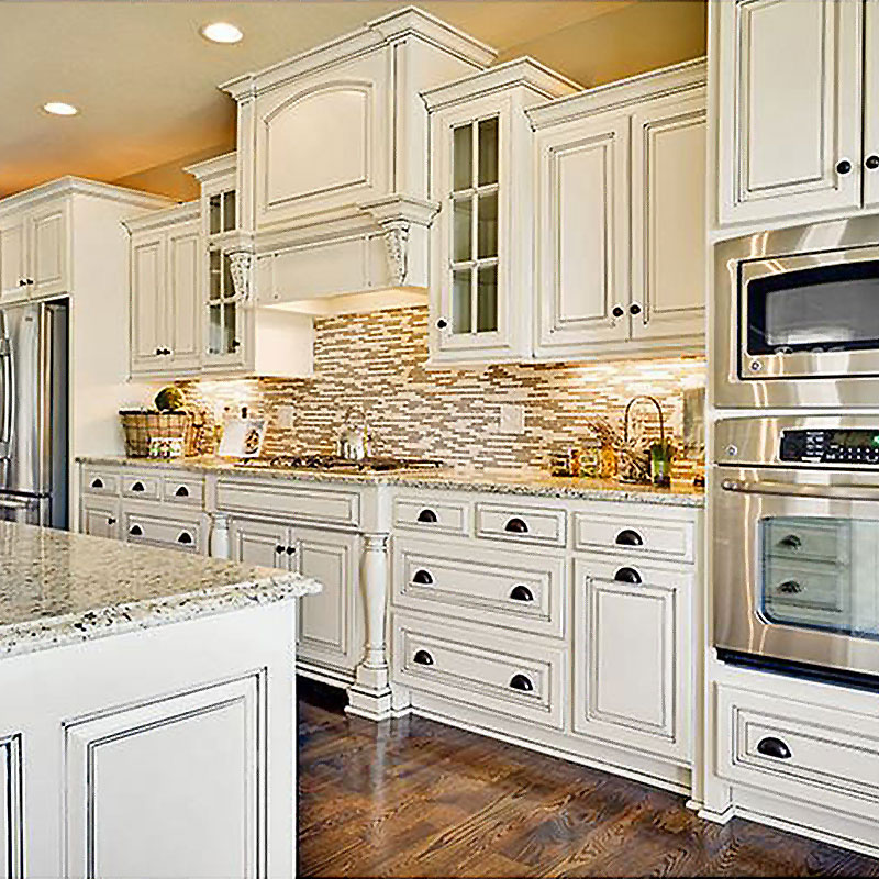 Latest kitchen cabinet designs lacquer Supply-1