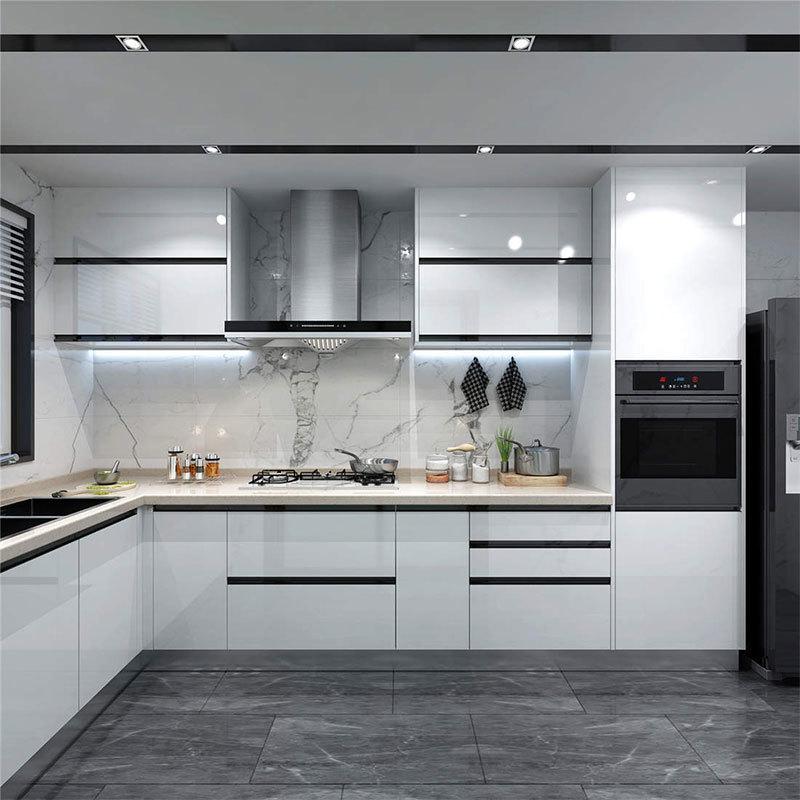 American Nordic Overall Minimalist Light Luxury Best Kitchen Cabinets