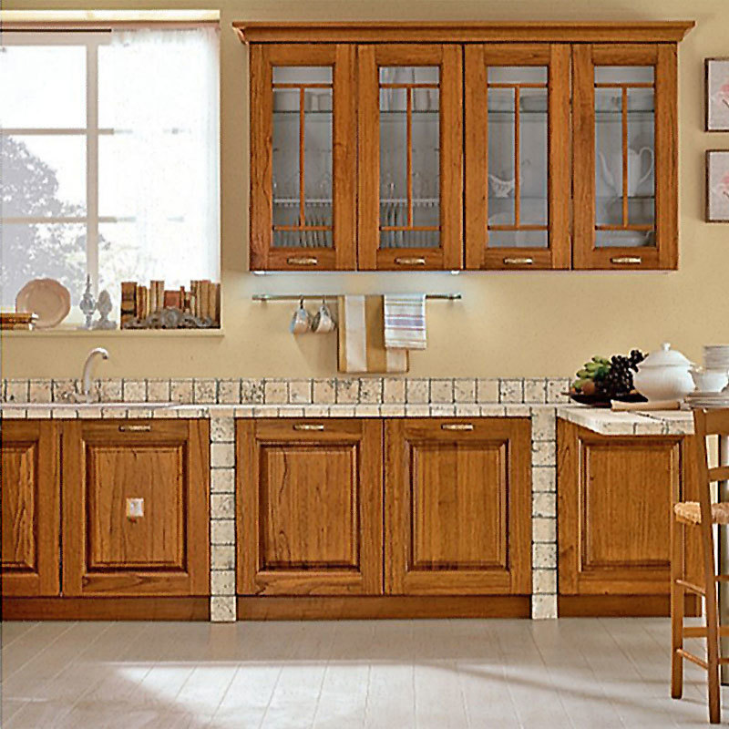 Promotion Modern Style Solid Wood Best Kitchen Cabinets