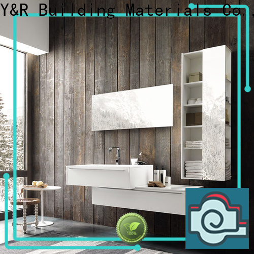 Y&R Building Top bathroom wall cabinet company