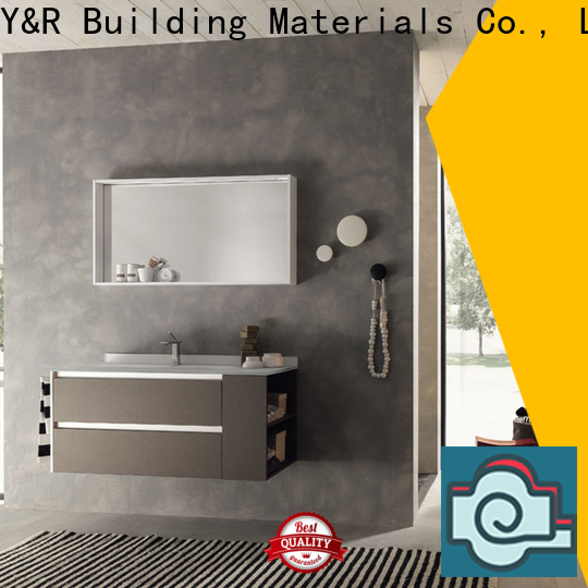 Y&R Building bathroom cabinet with mirror Suppliers