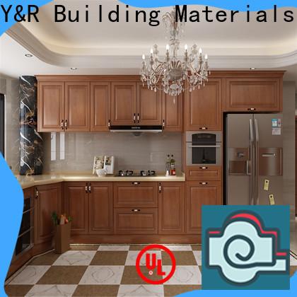 Y&R Building kitchen corner cabinet manufacturers