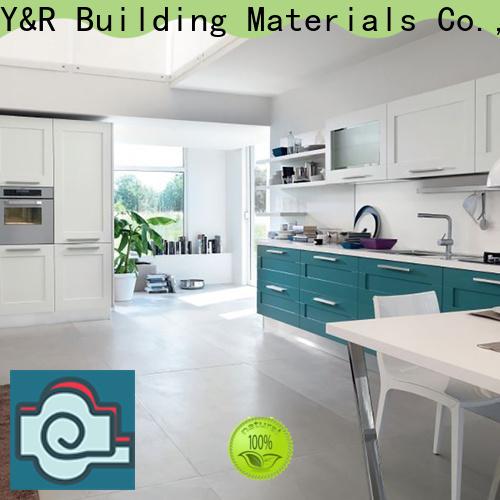 Y&R Building modern kitchen cabinets manufacturers