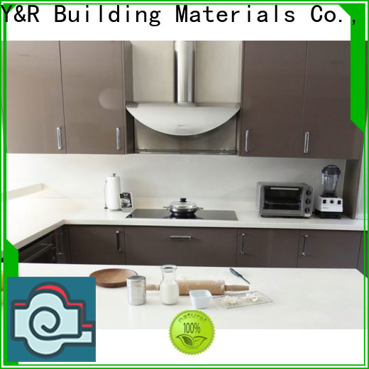 Y&R Building High-quality modern kitchen cabinets Supply