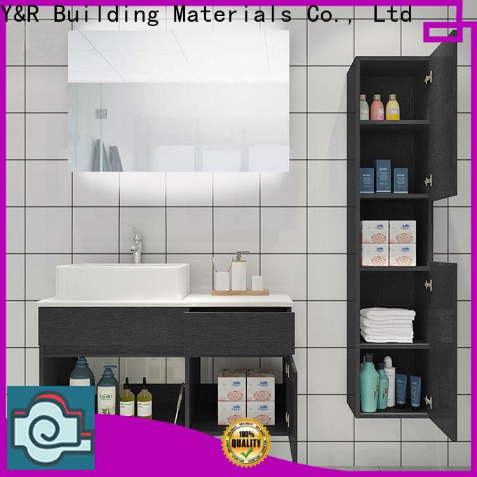 Y&R Building Latest marble bathroom cabinet company