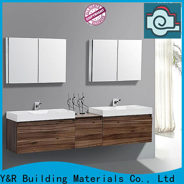 New wood bathroom cabinet factory