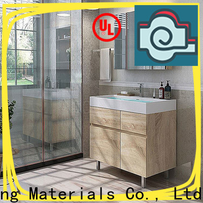 High-quality wood bathroom cabinet factory