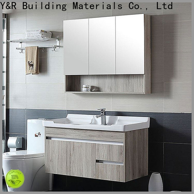 Y&R Building High-quality double bathroom vanity Supply