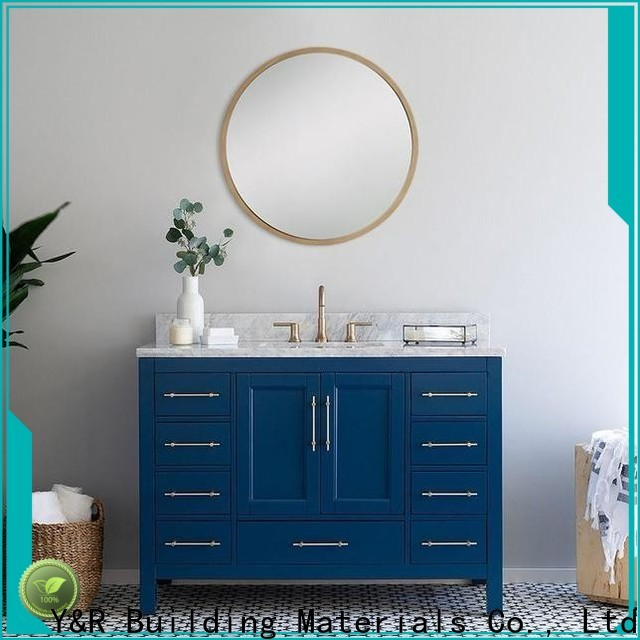 Top bathroom corner cabinet for business