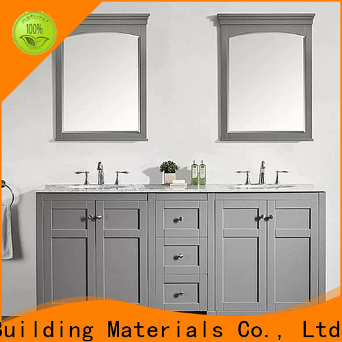 High-quality wood bathroom vanity company