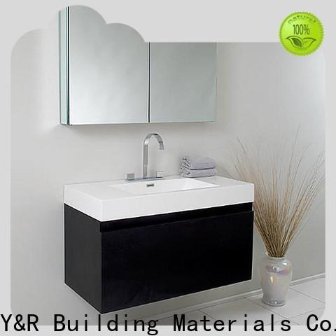 Y&R Building luxury bathroom vanity factory