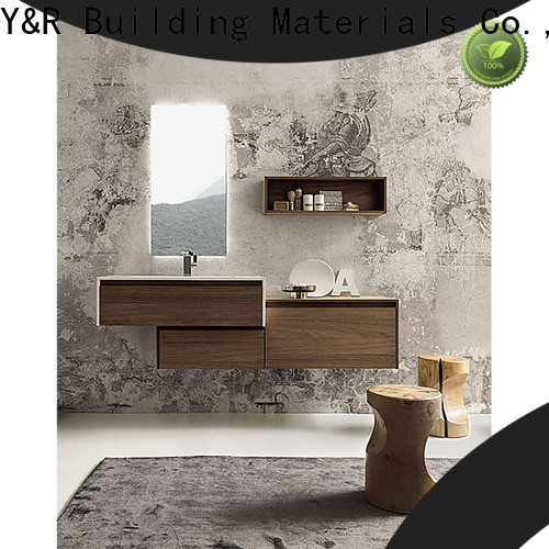 Y&R Building Best bathroom mirror with cabinet factory