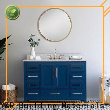 Y&R Building Material Co.,Ltd bathroom furniture cabinet factory
