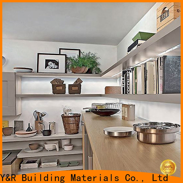 Y&R Building Material Co.,Ltd Top modern kitchen cabinets factory