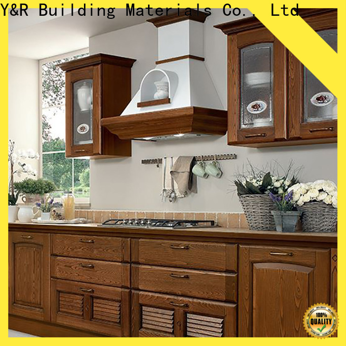 Y&R Building Material Co.,Ltd Wholesale best kitchen cabinets Supply